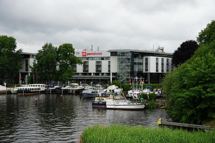 Das Pentahotel in Berlin-Köpenick bot für die Preisverleihung ein ideales Ambiente.