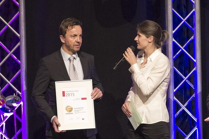 """Peter Herm siegte in der Kategorie """"Shop über 100m²""""."""