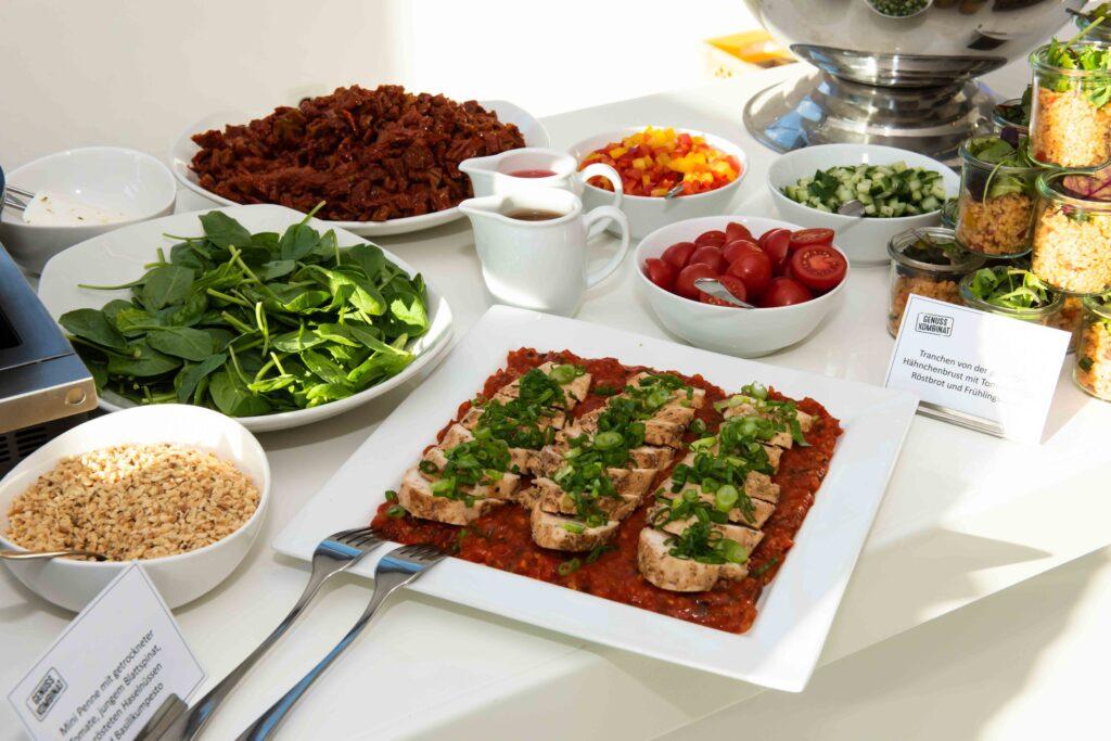 Verschiedene Köstlichkeiten schufen den passenden kulinarischen Rahmen der Veranstaltung.