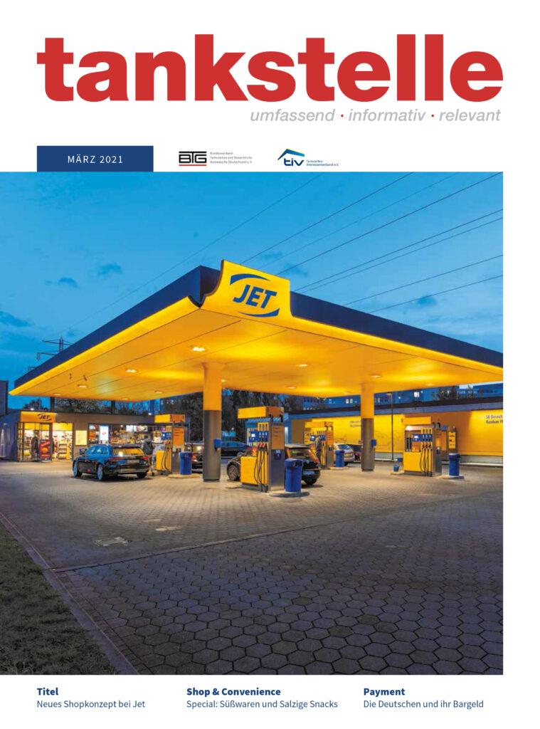 Tankstelle Magazin März 2021