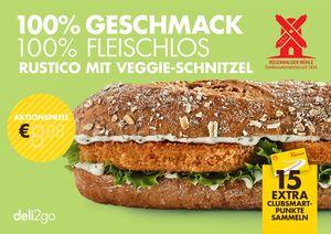Vegetarisches Schnitzel Burger Shell